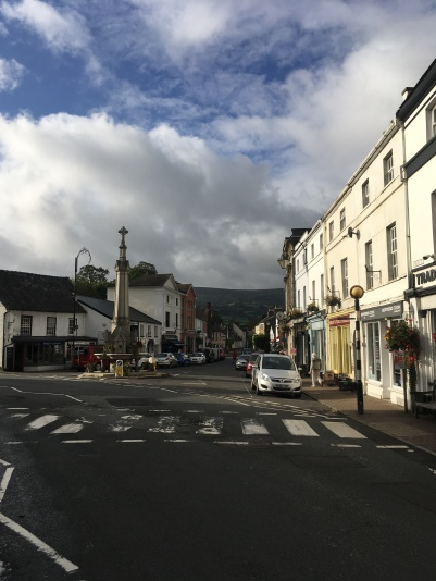 Crickhowell. An absolute little gem of a town, with a great book festival to book.